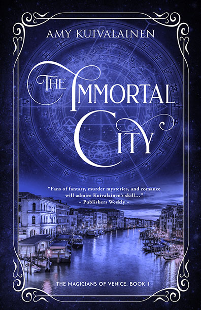 Link to the book release spotlight for The Immortal City