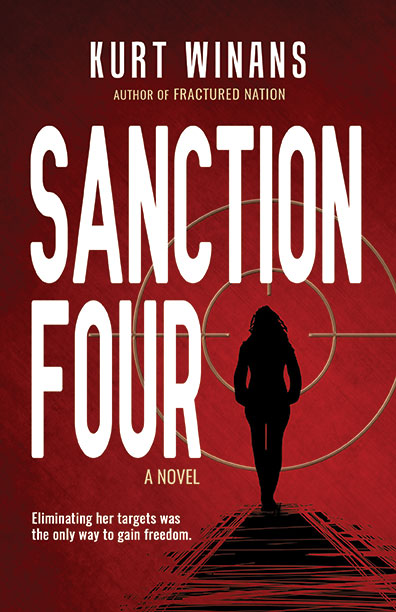 The cover art for Kurt Winans' Sanction Four.