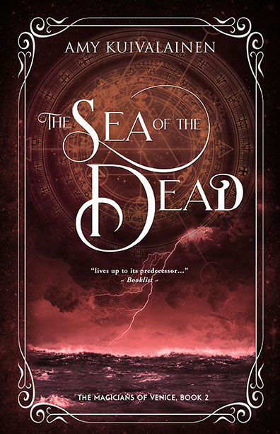 Link to release day post for The Sea of the Dead.
